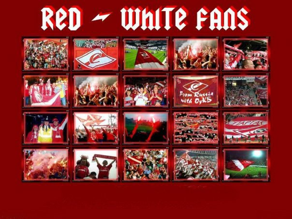 Red-White Fans