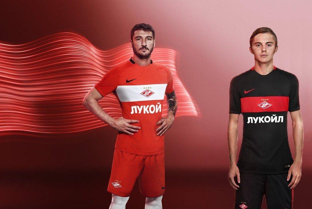 форма спартак москва футбольный клуб